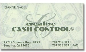 Logo Design and Business Card for Creative Cash Control