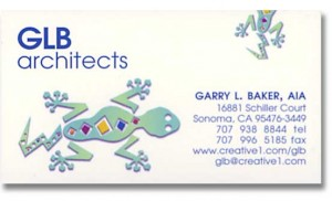 Logo Design and Business Card for GLB architects