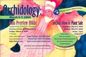 Orchid Society Gala Postcard