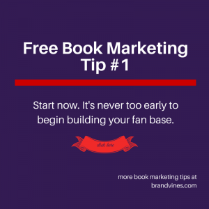 Free Book Marketing Tip #1