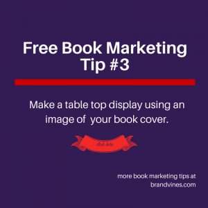 Free Book Marketing Tip #3