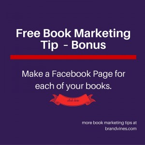 Free Book Marketing Tip - Facebook Pages