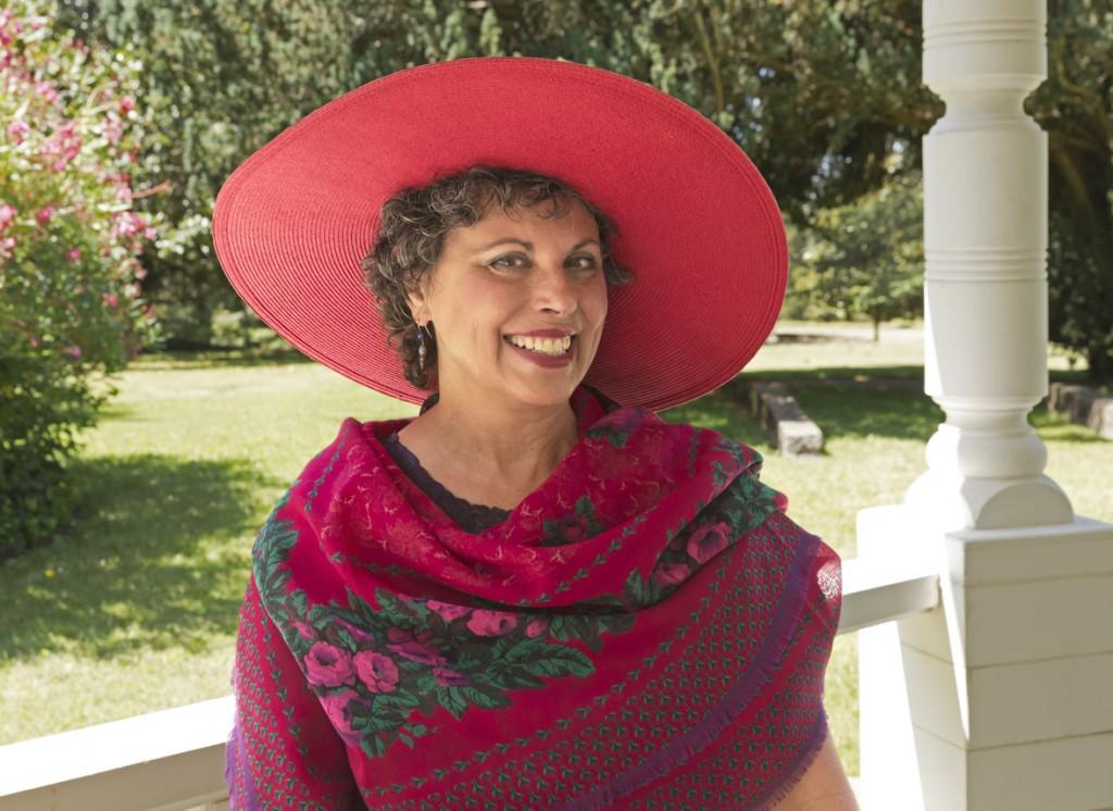 Judy Baker at Bartholomew Park