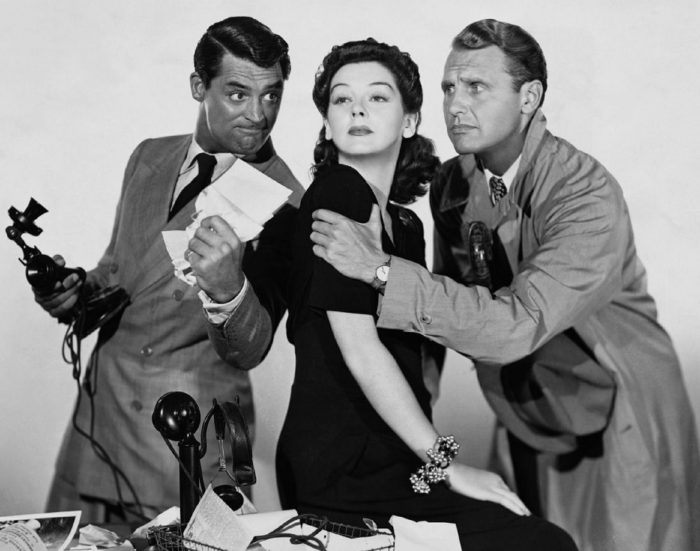 Get famous like Cary Grant and Rosalind Russell